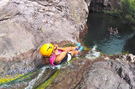 Paso de Vaqueros Canyoning Adventure ...