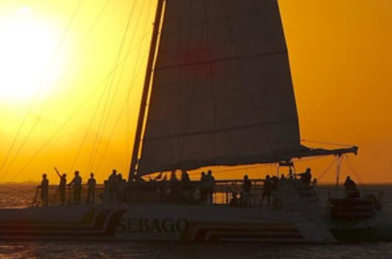 Key West Catamaran Sunset Champagne Cruise in South Florida