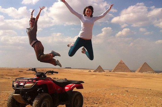 4-Hour Quad Bike Tour around Giza...