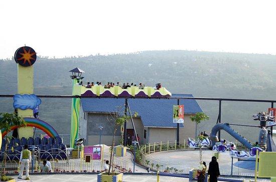 On Wheelz Amusement Park Entrance...