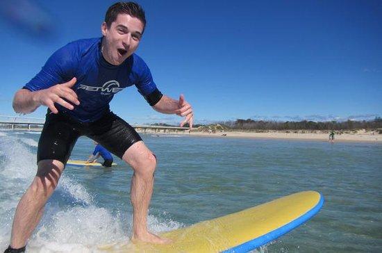 Cours de Surf débutants de 2 heures à...