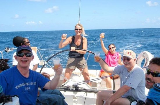 Antigua Half-Day Private Yacht Charter