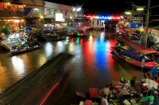 Private Tour: Amphawa Floating Market...