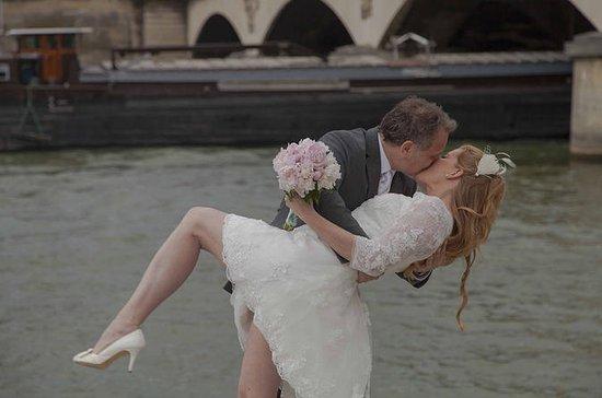 Paris Eiffel Tower Wedding Vows...