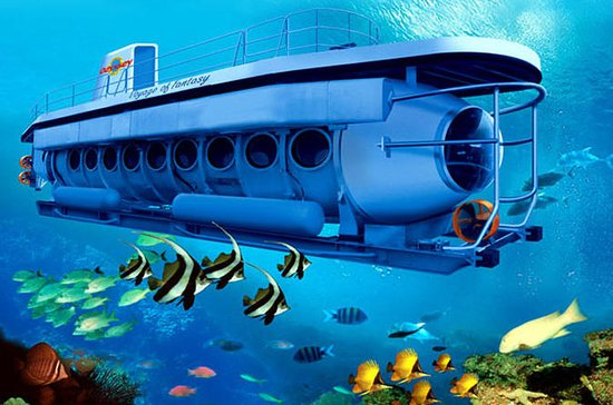 Voyage of Fantasy Bali Submarine Tour