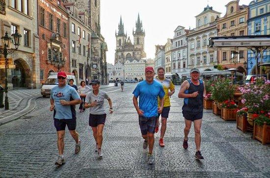 Jogging guidé de Prague: les points...
