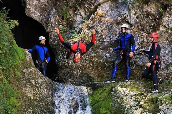 Bled en Bohinj Valley Canyoning ...