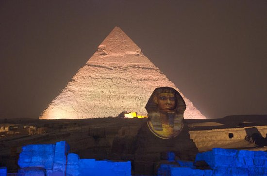Sound and Light Show at Giza Pyramids...