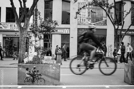 Excursion privée à vélo à Bogotá