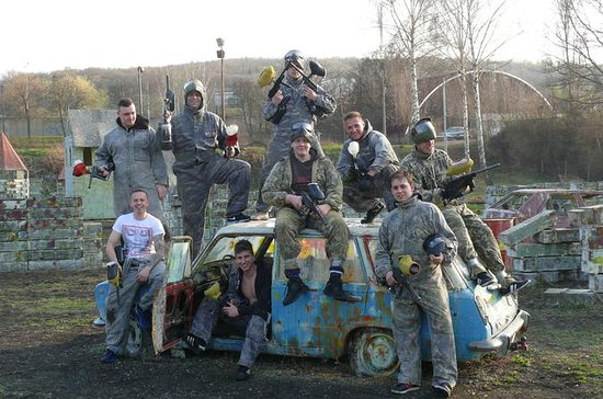 Prag Outdoor Paintball-Erlebnis