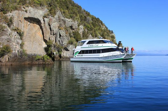 Maori Rock Carving Cruise fra Taupo