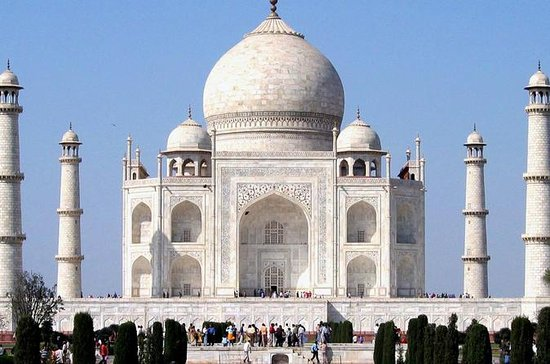 Privat Full Day Taj Mahal Tour fra...