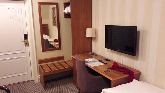 Kleine slaapkamer bild von best western karl johan hotell oslo