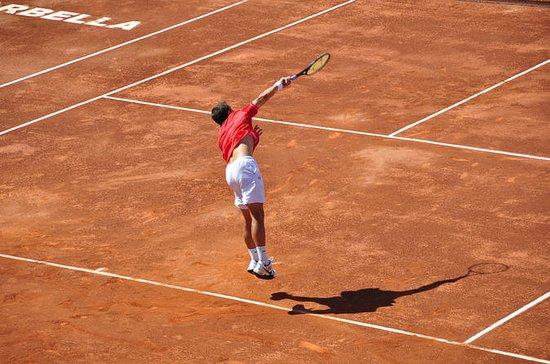 Clase de tenis con instructor en...