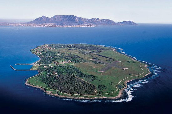 Robben Island and Cape Town City ...