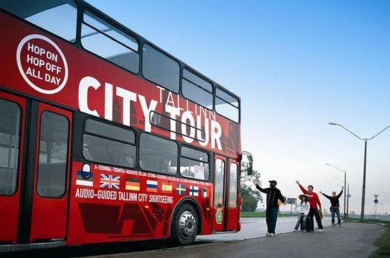 Tallinn Red Bus 24h Hop-On Hop-Off ...