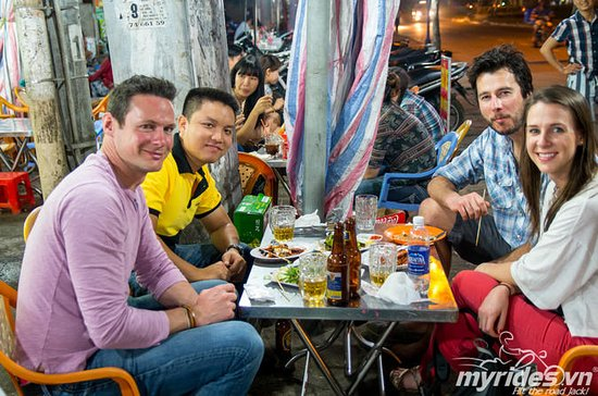 Saigon Night Street Food Tour by...