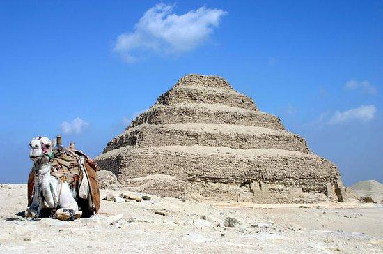 Excursión privada de un día a las pirámides de Guiza y Saqqara con...