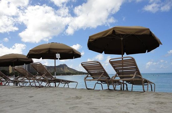 Beach Umbrella and Chair Set Rental