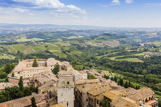 Siena and San Gimignano Wine...