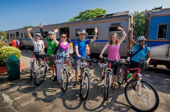 チェンマイの田園地帯を行く終日サイクリング ツアー