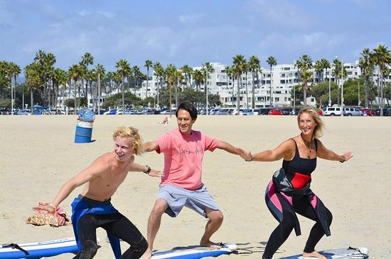 Venice Beach Private Surf Lesson with Professional Instructor