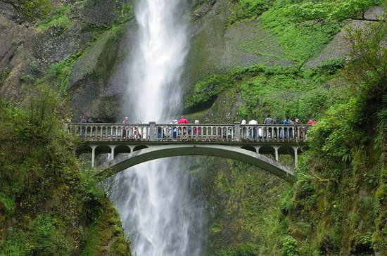 Multnomah Falls, Columbia River Gorge...