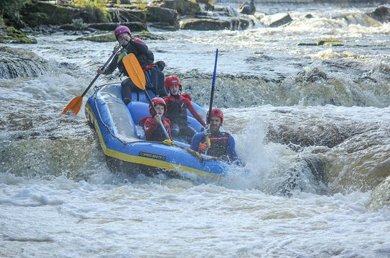 Whitewater Rafting on the River Dee...