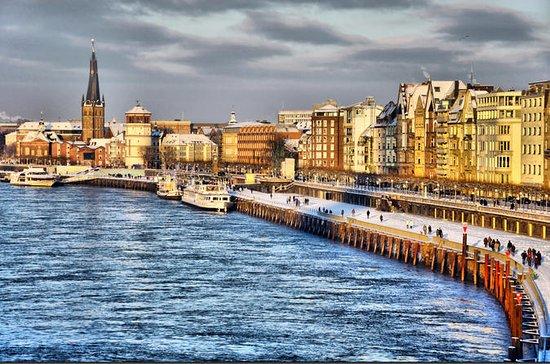Düsseldorf Rhine River Christmas...