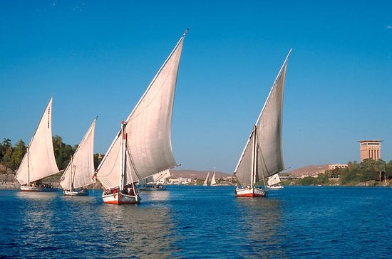 Nile Trip on Felucca for an hour in...