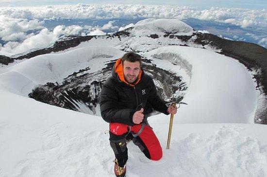 Cayambe Gletscher Rundgang