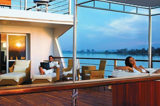 10-Night Luxury Spa Nile Cruise from...