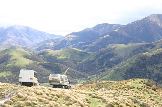 4WD and Jet Boat Adventure from Christchurch