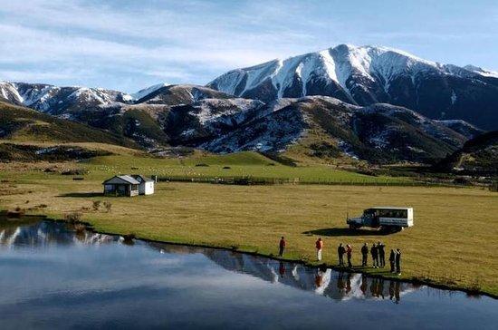 Alpine Safari 4WD Tour and TranzAlpine Train from Christchurch