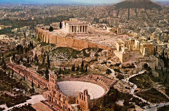 Tour privato di mezza giornata di Atene in minivan
