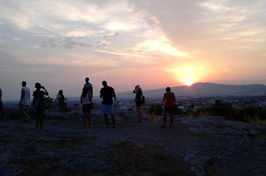 Excursion au coucher du soleil...