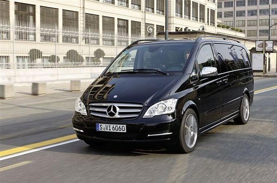 Private Departure Luxury Van Transfer: Central London to London City...