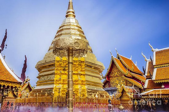 Half-Day Doi Suthep and Temples From...