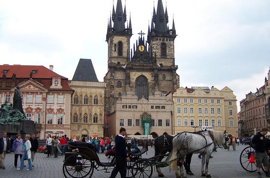 Prague Half-Day Tour Including Vltava...