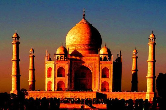 Overnight Sunset and Sunrise Taj...