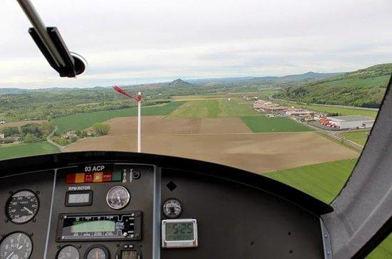 Introduction au pilotage d'un autogyre en Auvergne