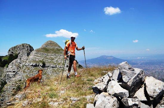 Caminata por el monte Faito, el punto...