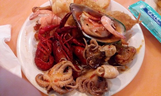 Taylor, Μίσιγκαν: Sea food collection from buffet