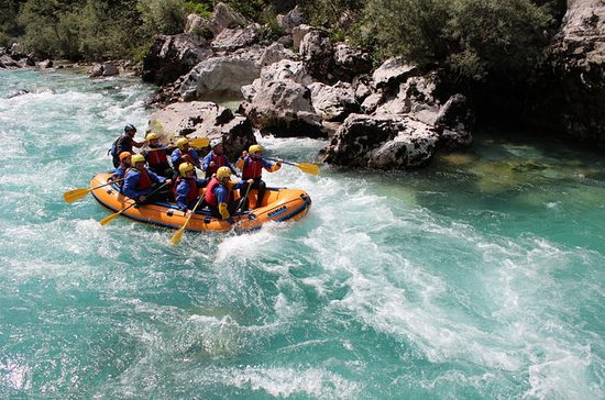 Rafting on Soca River