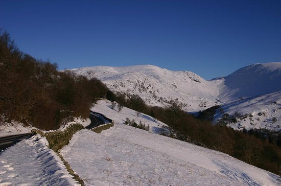 Ganztägiger Winter im Lake District...