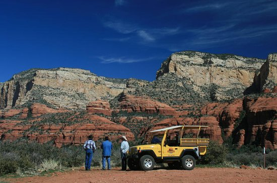 Sedona Jeep and Wine Tasting Combo...