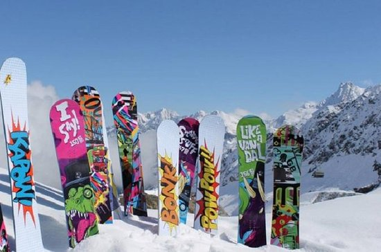 Whistler Snowboard Rental Package...
