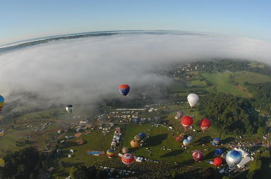 Sunrise Hot Air Balloon Flight at the ...
