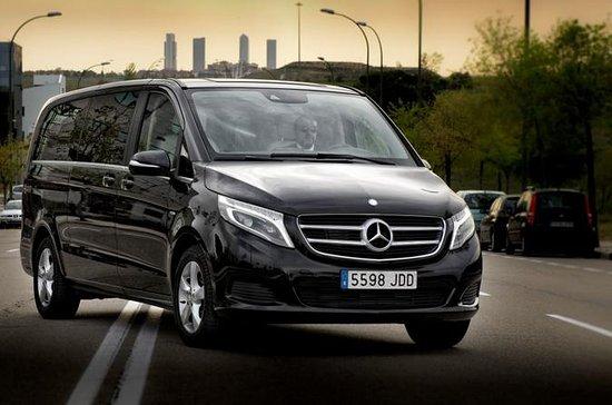 Transfert de luxe Van Aéroport de Madrid au centre-ville, Avila ou...