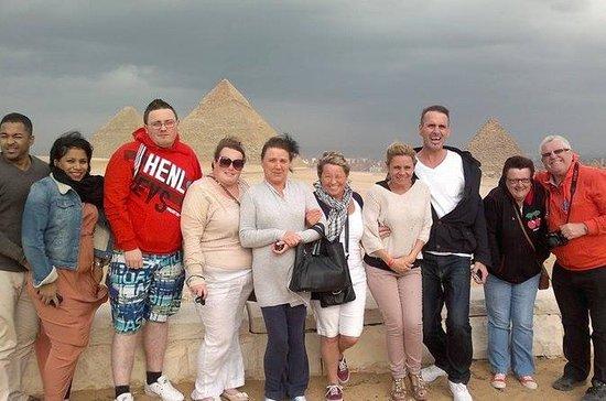 Full Day Tour in Giza Saqqara and...